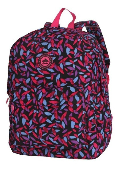 Mochila Feminina Spector Colorida Estampada Sheets Spa 5237
