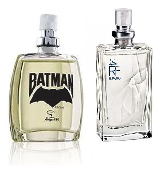Mini Colônia Jequiti Batman + Rodrigo Faro - 25ml