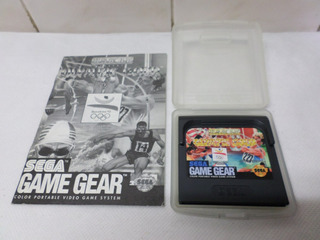 Olympic Gold Sega Game Gear Con Manual