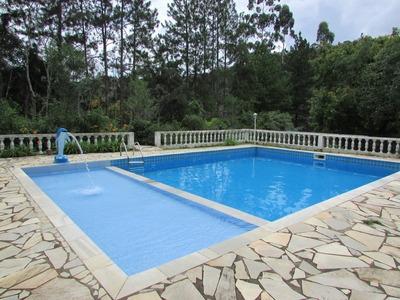 Juquitiba - Chácara/3.800 M/fogão Á Lenha/piscina Ref: 04277