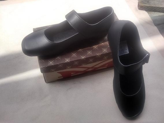 Zapatos Colegiales Escolares Oficina Niñas Y Dama