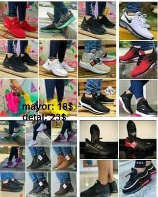 Zapatos Nike adidas Fila Rebook