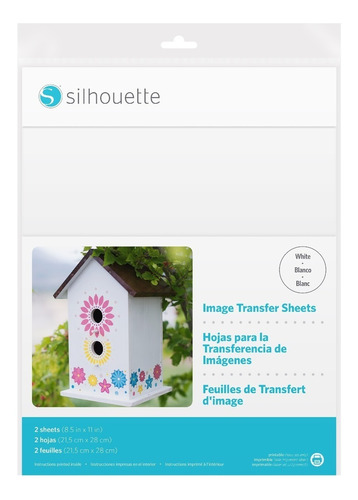 Imagen 1 de 2 de Silhouette Image Transfer Paper Transferencia De Imagenes