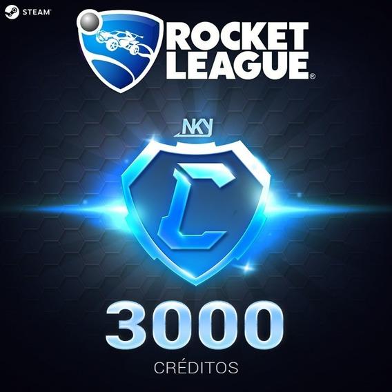 3000 Créditos [+ Brinde] - Rocket League (pc-steam)