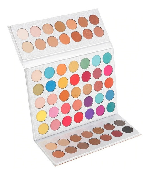 Paleta Sombras Pigmentadas Gorgeous Me Beauty Glazed Hill