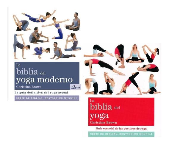 Biblia Del Yoga + Biblia Del Yoga Moderno - Brown Christina