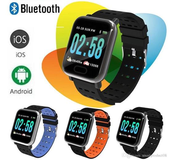 Relógio Bracelet Smart Andróid Ios Pressão Arterial Promoção