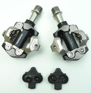 Pedal Encaixe Clip Mtb Shimano Xt M8100 Com Taquinhos Usado