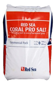 Red Sea Coral Pro Salt 25,2kg Sal P/ Aquário Marinho P/ 750l