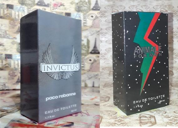 Kit Promoção Perfumes Masculinos,invictus / Animle