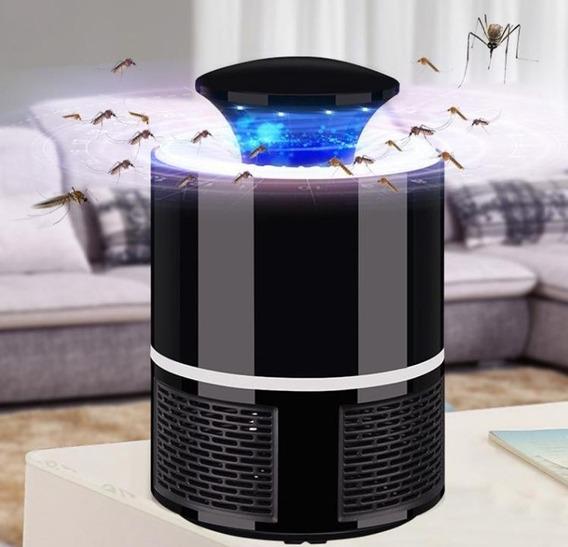 Lampara Mata Killer Mosquito Usb Powered Bug Zapper Negra