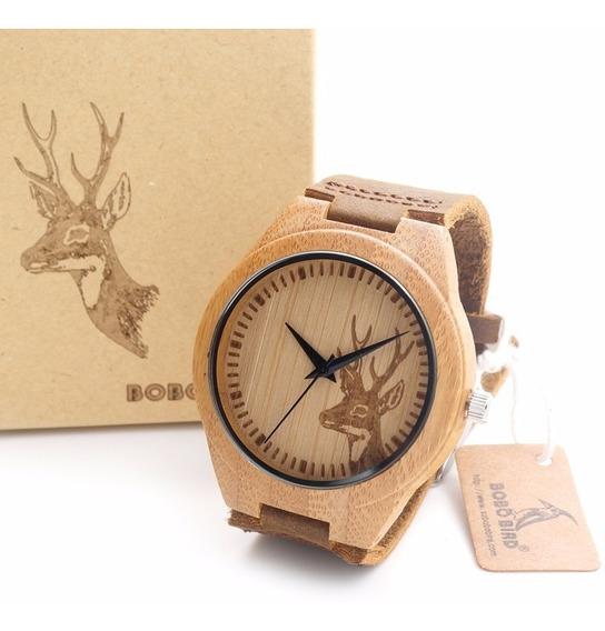 Relógio Bobo Bird - Unisex Em Banbu