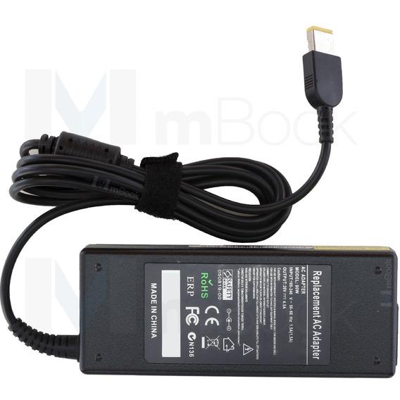 Fonte Carregador Lenovo Thinkpad X1 Carbon 20v 4.5a Plug Usb