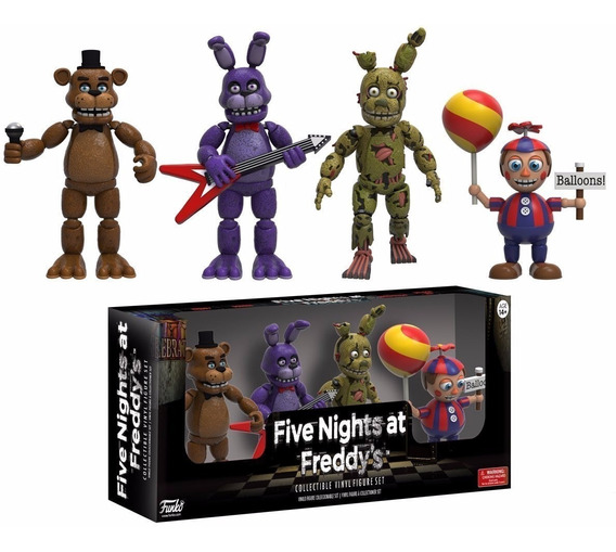 Five Nights At Freddy - Bonnie Springtrap Balloon Boy- Funko