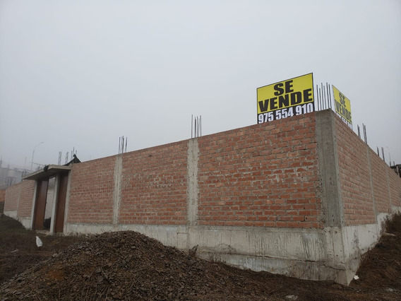 Venta Terreno 120 M2 Pachacamac - Negociable