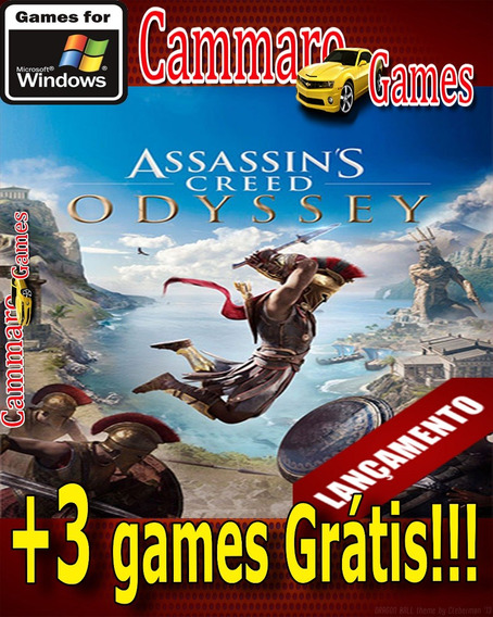 Assassins Creed: Odyssey Deluxe Edition + 3 Games Grátis
