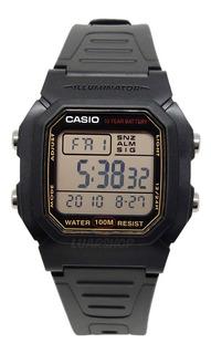 Relogio Casio Digital W800h Masculino Original C/ Caixa Nf
