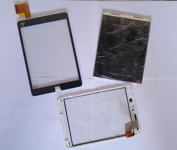 Touch Original Logo Raspado + Lcd107 Tablet Tp295bra