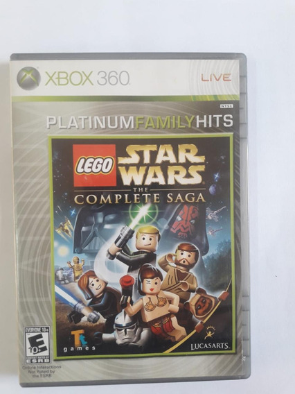 Lego Star Wars The Complete Saga Xbox 360 Original Fisica