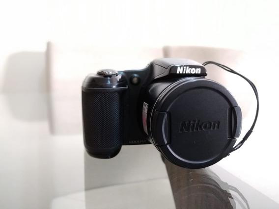 Câmera Nikon Coolpix L820 - 16mp - Zoom 30x (usada) + Brinde