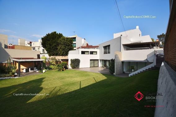 Casa De Lujo Cdmx En Club De Golf Bellavista
