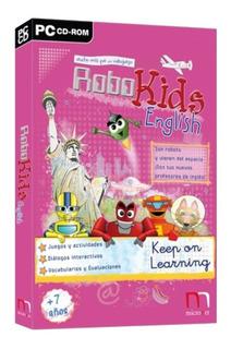 Juego Pc Robokids English Keep On Learning - Aprender Ingles