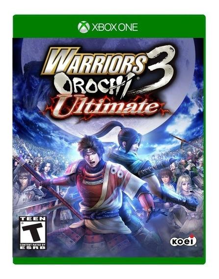 Warriors Orochi 3 Ultimate Xbox One Mídia Física Lacrado