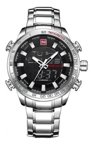 Relógio Masculino Naviforce 9093bbw Original