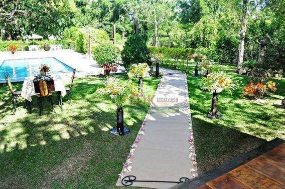 Chácara Com 5 Dormitórios À Venda, 5000 M² Por R$ 2.590.000,00 - Bom Sucesso - Pindamonhangaba/sp - Ch0271