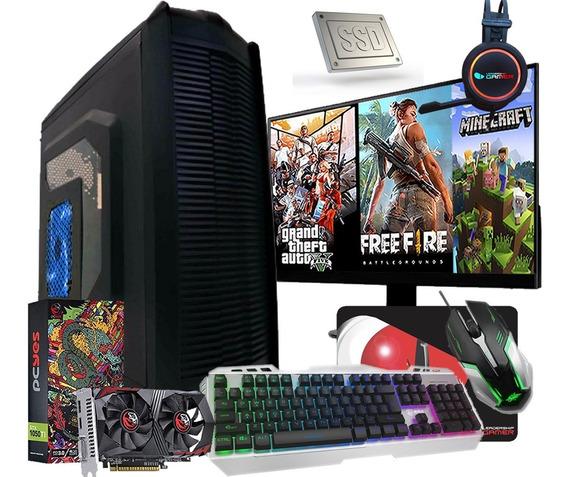 Pc Gamer Completo I5 16gb Ssd 120gb 1tb Placa De Video
