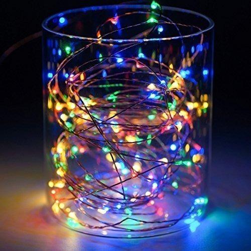 86 Cordão Fio Luz Fada Colorido 3m 30 Led Fairy Light Decor
