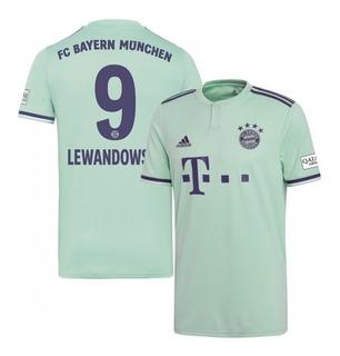 Camisa adidas Bayern De Munique Away 18/19 Lewandowski 9