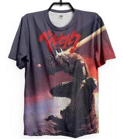 Camisa Camiseta Berserk Mangá Anime Guts Otaku Full