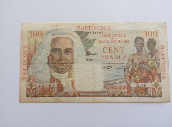 Martinique - 100 Francs De 1947.