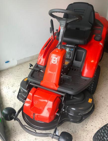 Tractor Husqvarna Rider 214 Tc Con Plataforma