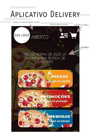 Aplicativo Delivery Pizzaria Pacote De Altomatização