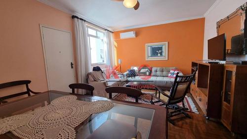 Imagem 1 de 8 de Apartamento Com 2 Dormitórios À Venda, 95 M² Por R$ 500.000,00 - Boqueirão - Santos/sp - Ap10501