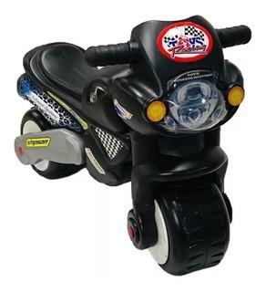 Moto Montable Para Niños Tick Tack Alta Resistencia Sonido