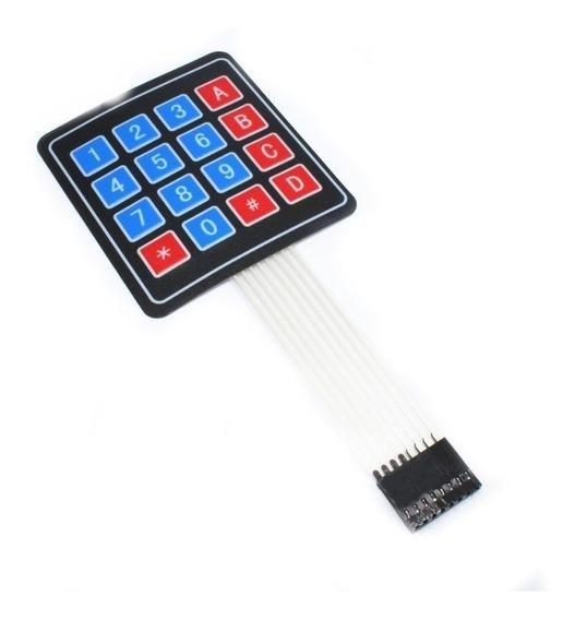 Teclado 4x4 Matricial Alfanumérico - Arduino