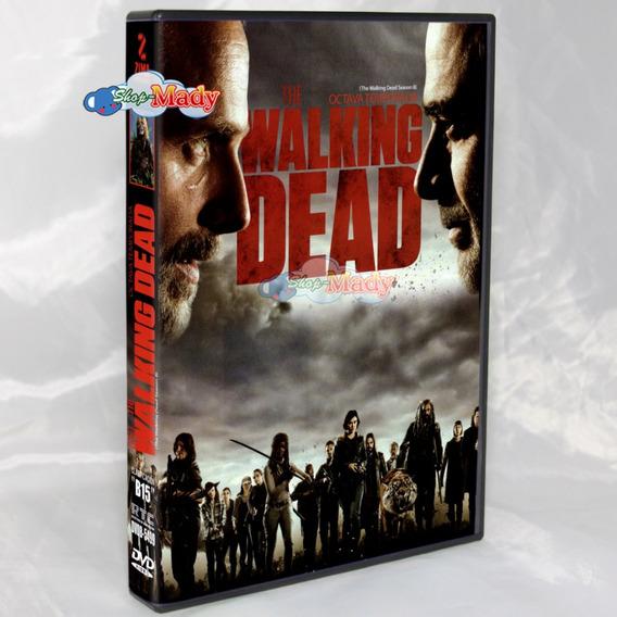 The Walking Dead Octava Temporada En Dvd Región 1 Y 4