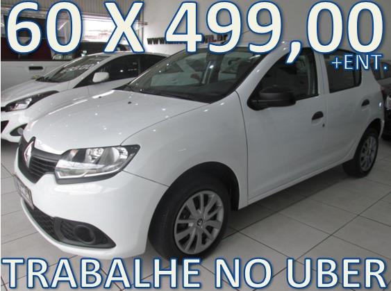 Renault Sandero Flex Completo- Unico Dono - Trabalhe No Uber