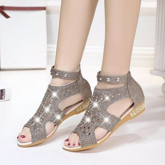 Mujeres Zapatos Comodidad Sandalias Verano Capirotazo Fracas