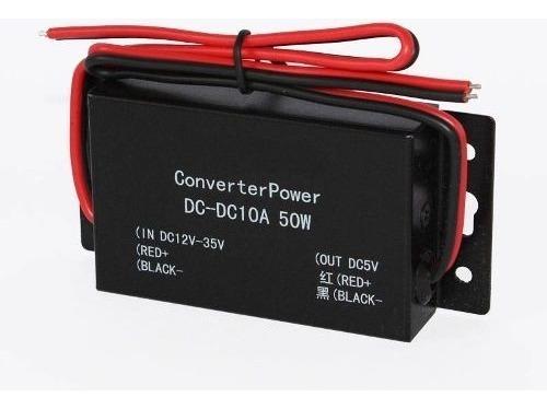 Conversor Dc-dc - 12-35v P/ 5v - 10a Imperdível