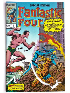 Fantastic Four Special Edition 1 (1984) Stan Lee Jack Kirby.