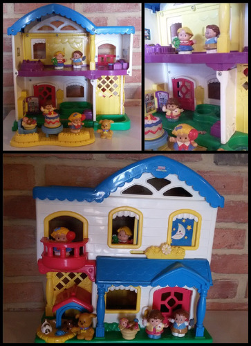Casa Little People.  Fisher Price.