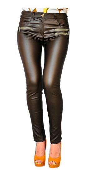 Pantalon Chupin German Mujer Mirta Armesto Engomado