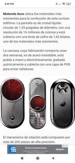 Motorola Aura Colection - Remato