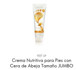 Feet Up Crema De Pies Nutritiva Con Cera De Abeja
