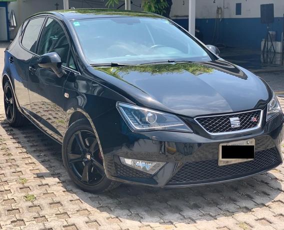 Impecable Seat Ibiza 2017 Fr 1.2 Turbo 5 Puertas Negro