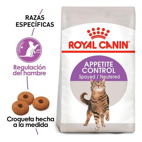 Imagen 1 de 3 de Alimento Para Gato Esterilizado Royal Canin 2.7kg